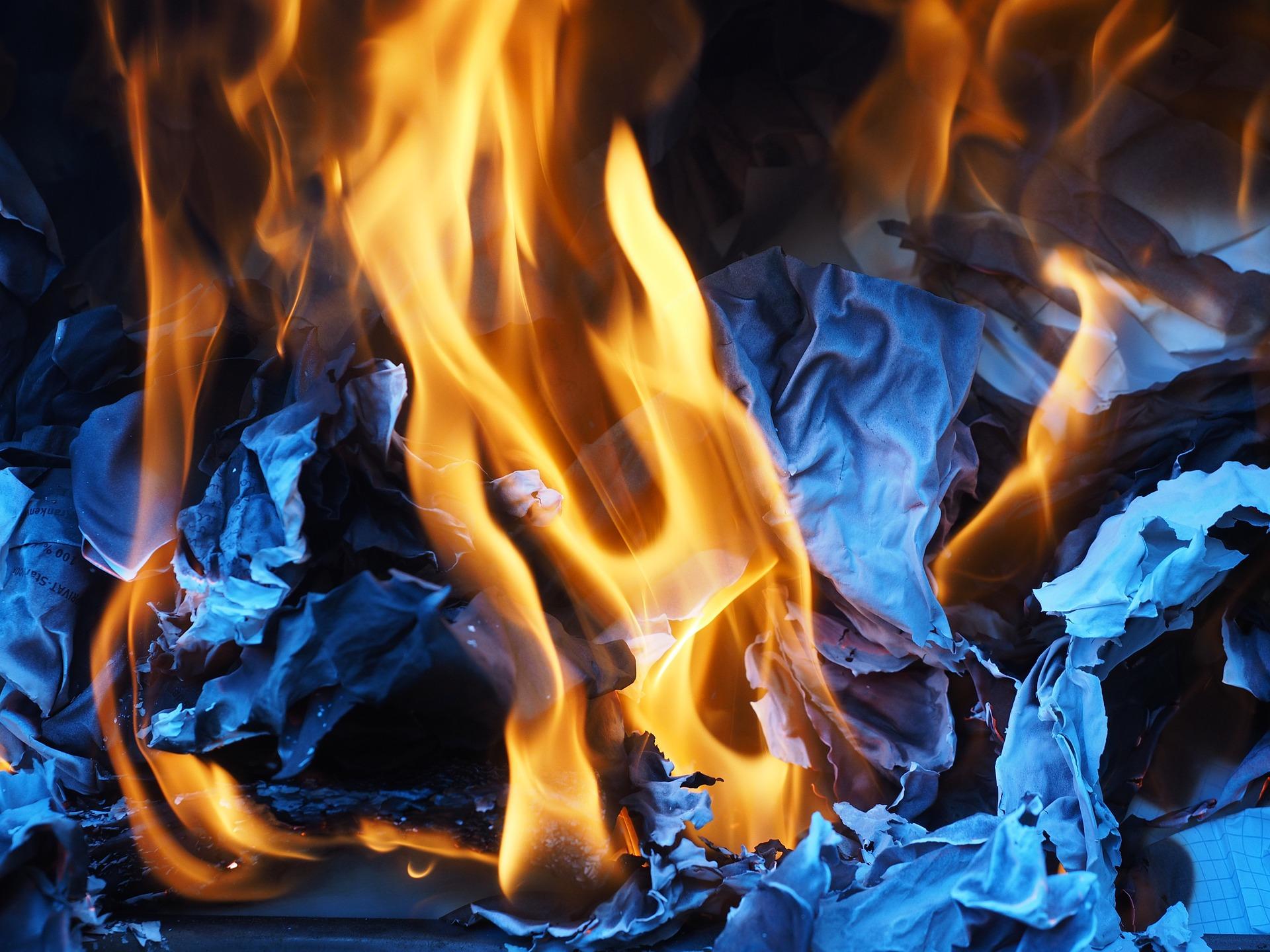 fire-paper