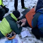Exciting outdoor first aid scene by Life Saving Training