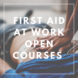 First Aid at Work Open Courses