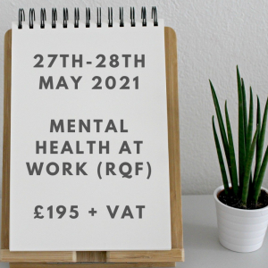 Mental Health at Work Course